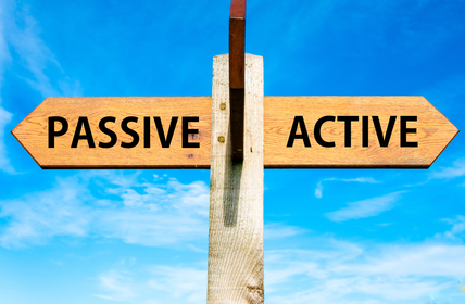 Active voice or passive voice