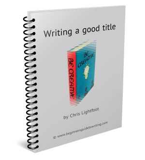 Writing a good title