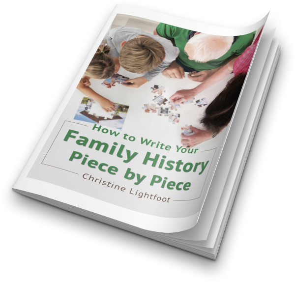How to Write Your Family History Piece by Piece